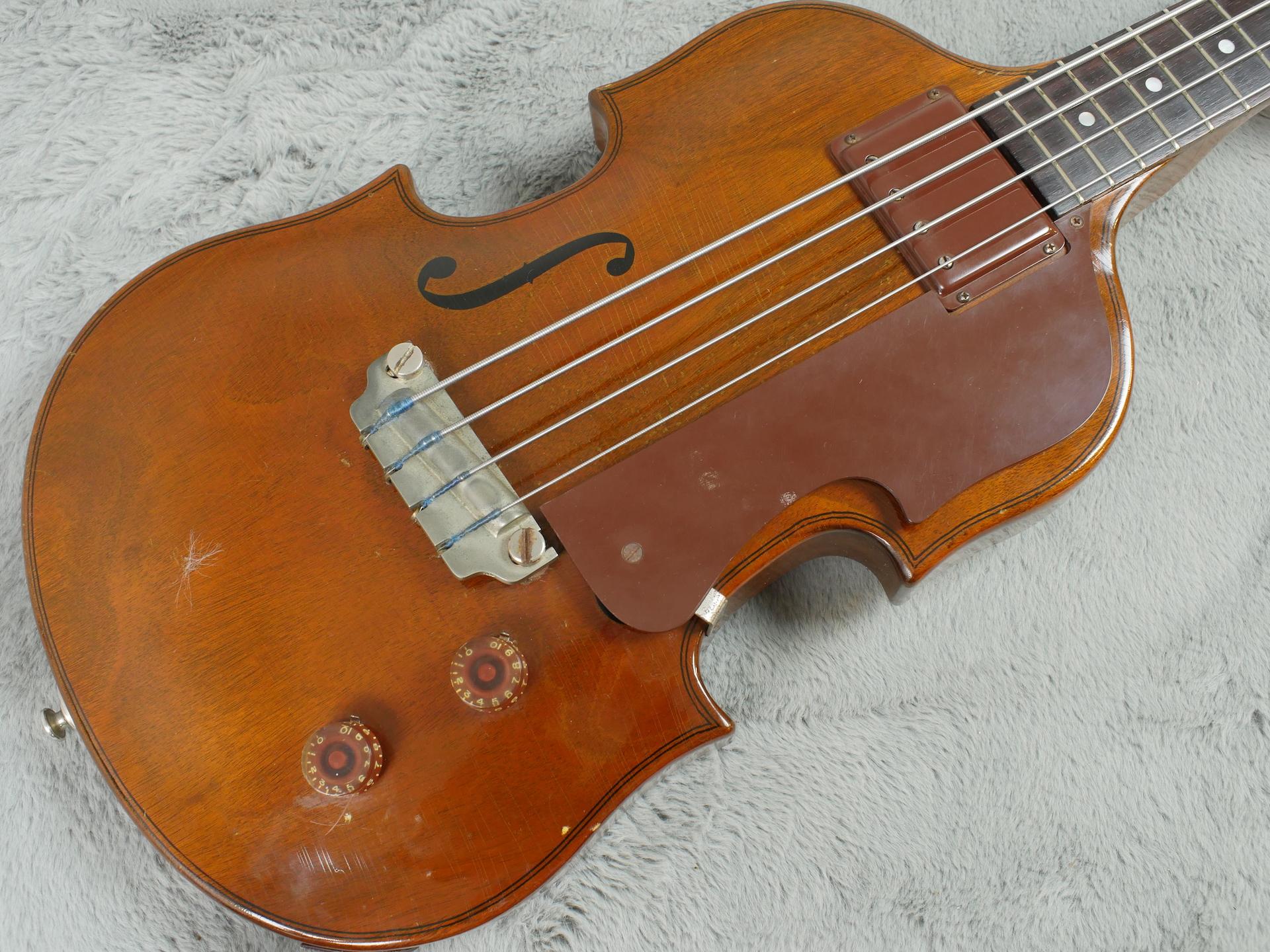 1953 Gibson EB-1 Violin Bass + Original Stick + OHSC