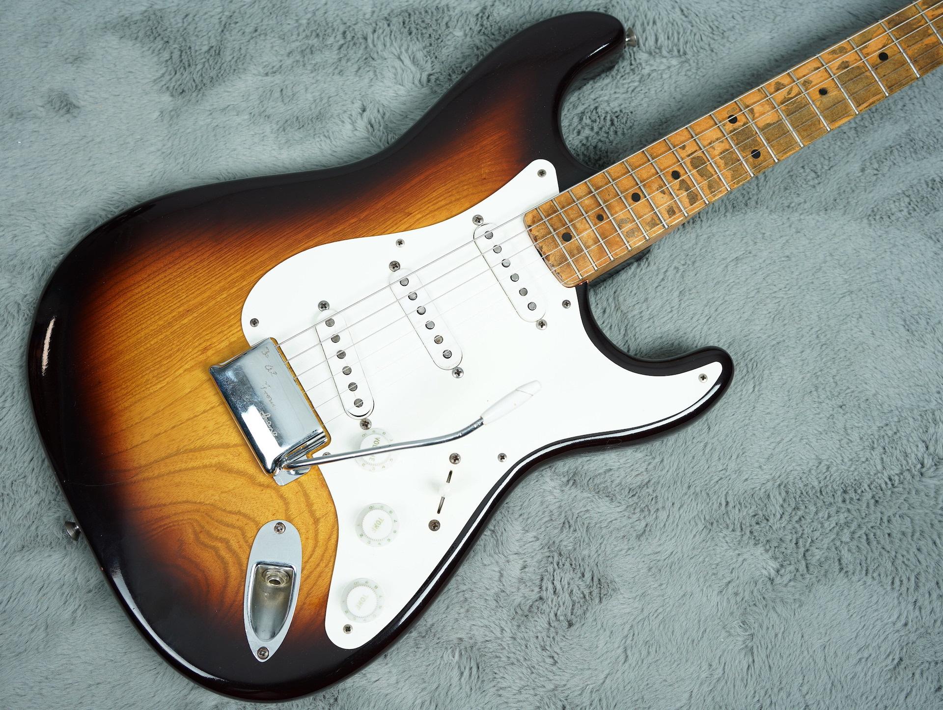 1954 Fender Stratocaster refin + OHSC