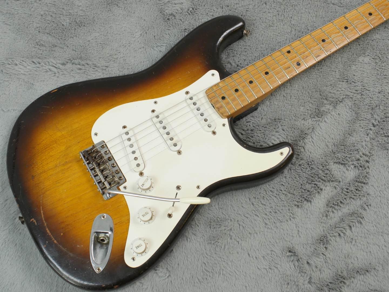 1956 Fender Stratocaster Ash Bakelite + OHSC