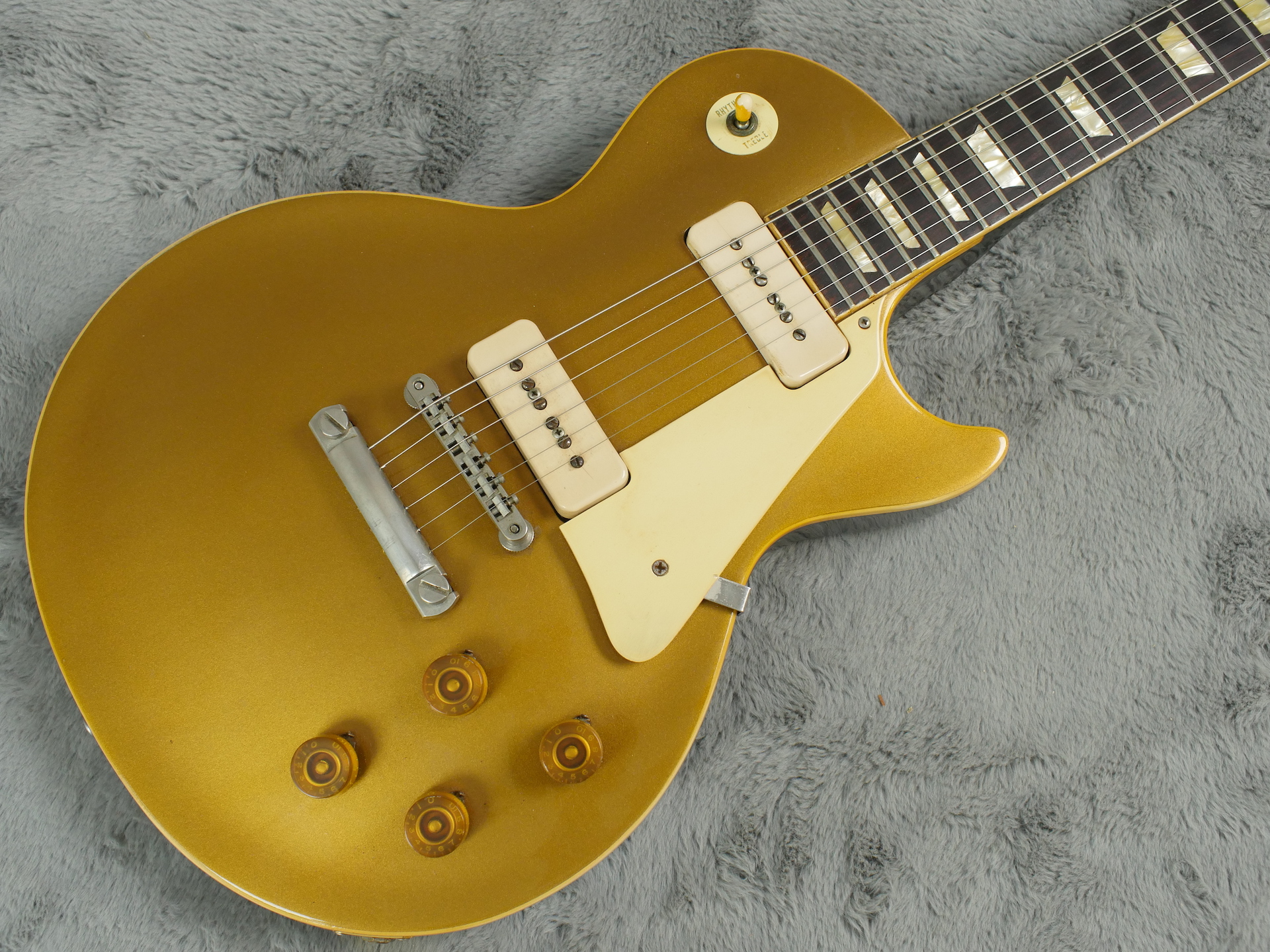 1955 Gibson Les Paul Standard Goldtop + OHSC - Bargain!!