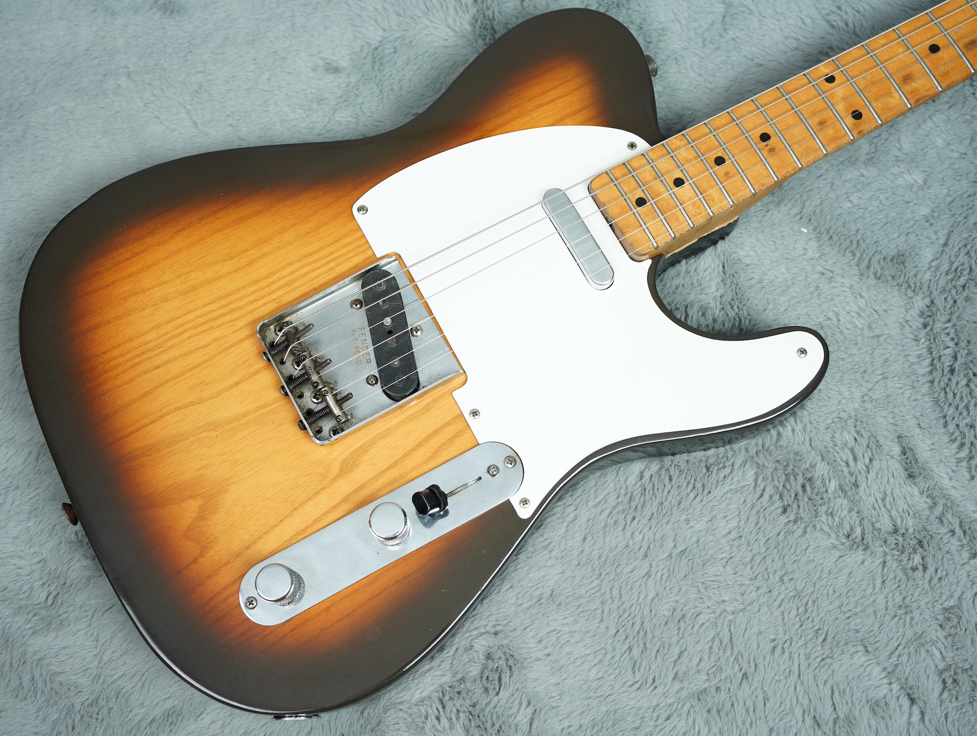 1957 Fender Telecaster refin + HSC