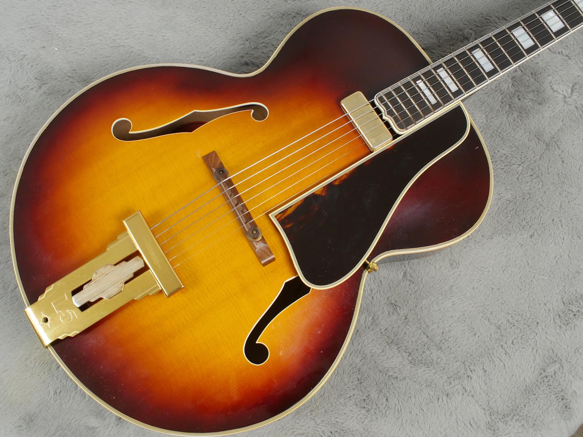 1957 Gibson L-5 + OHSC MINT