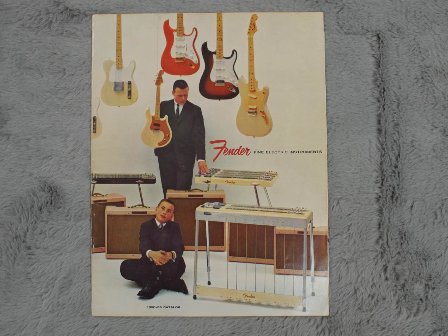 1958-59 Fender Full Catalogue