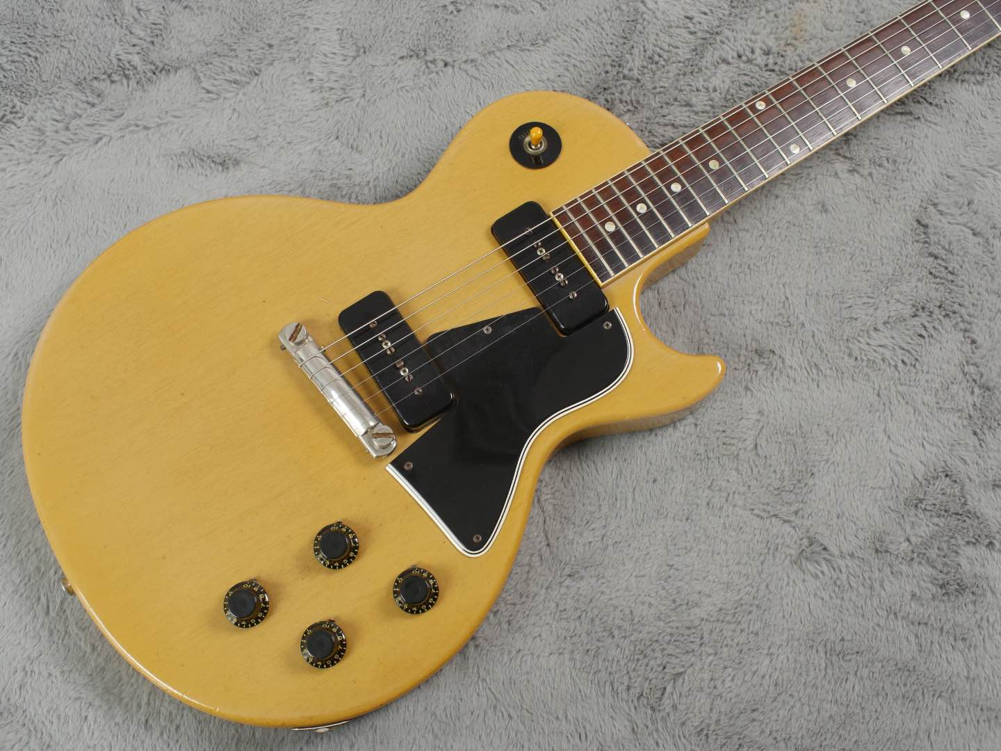 1958 Gibson Les Paul Special TV Yellow + Lifton 5 Latch OHSC
