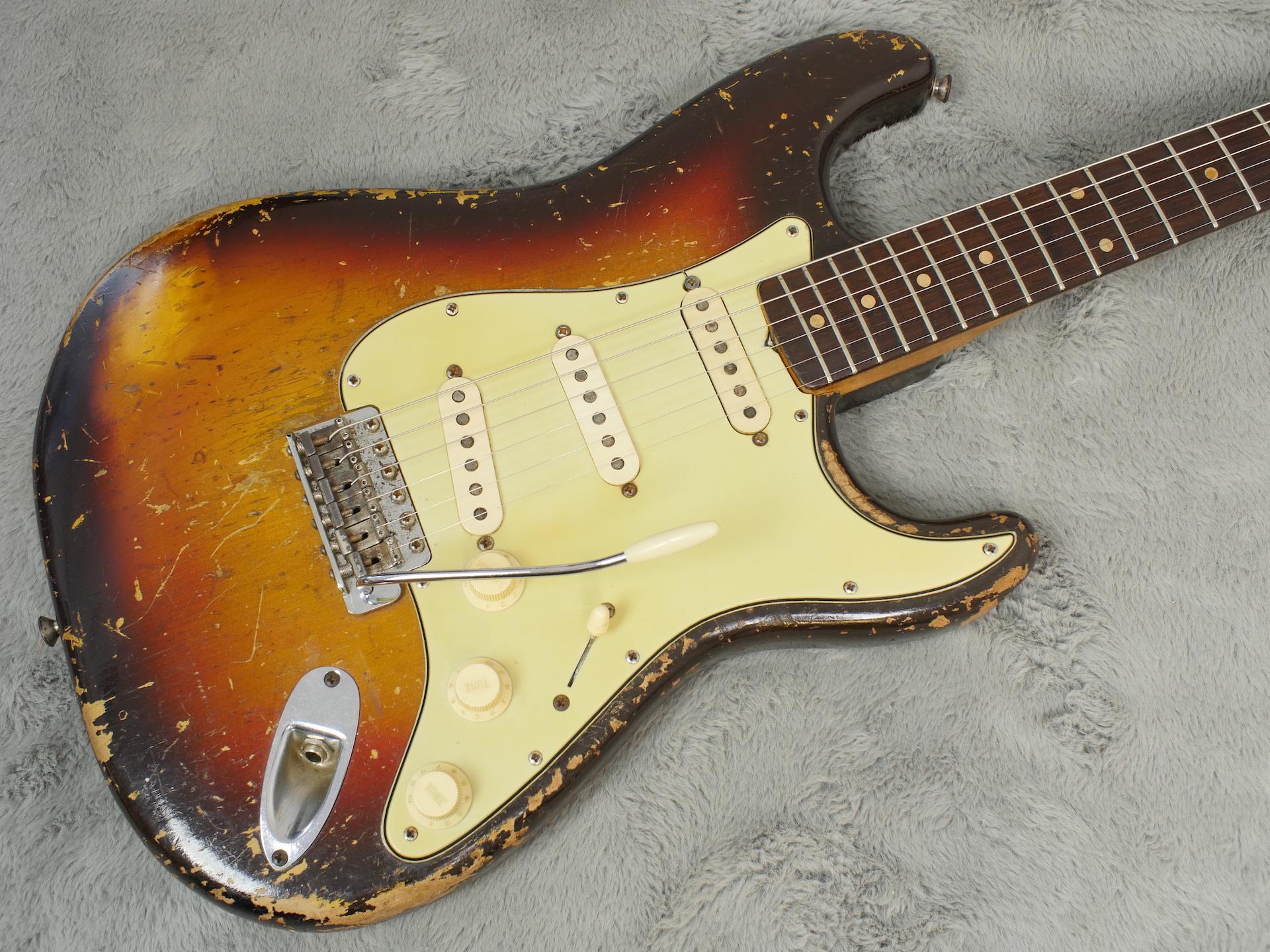 1960 Fender Stratocaster + OHSC