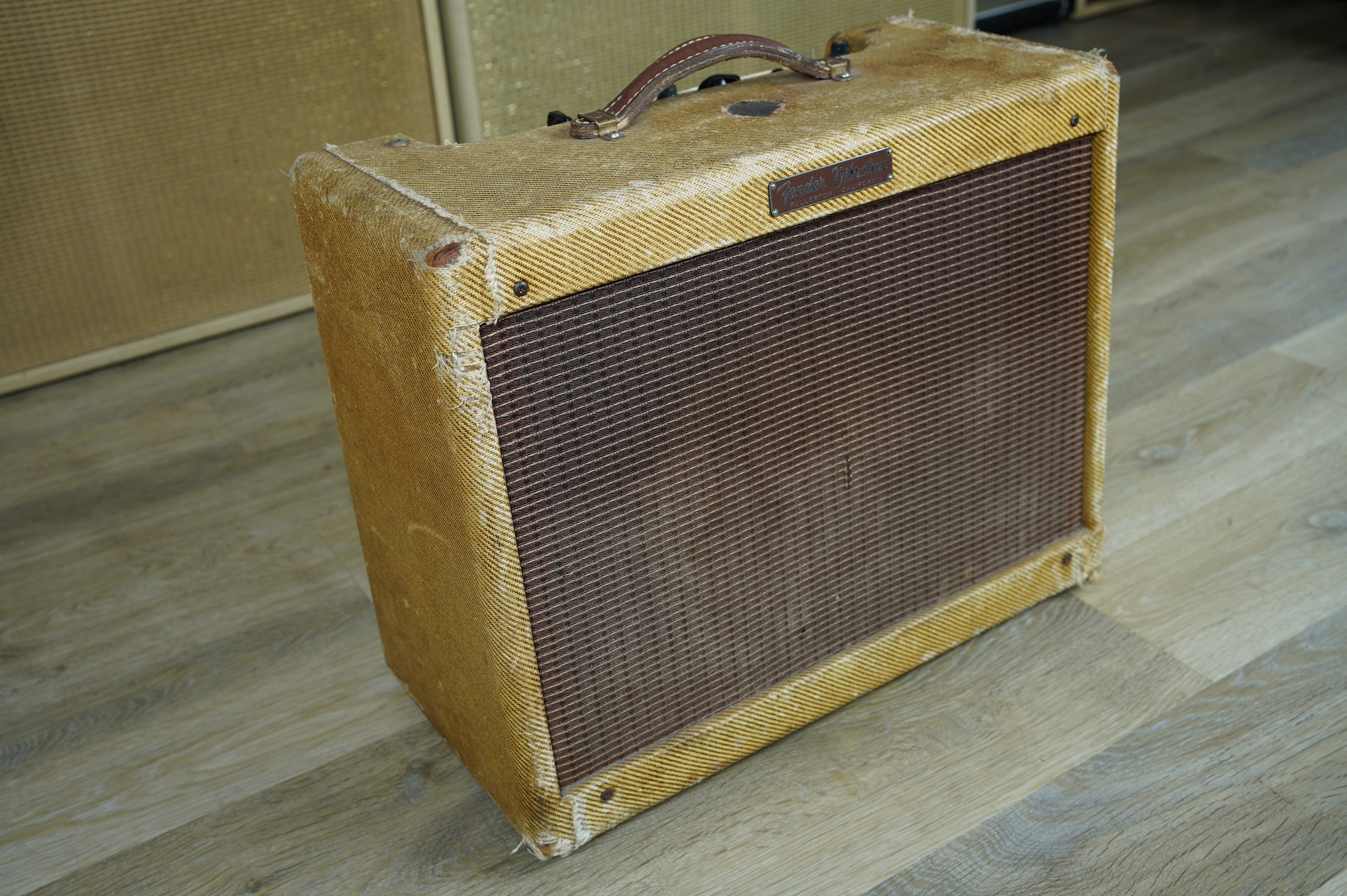 1960 Fender Vibrolux Tweed Amplifier