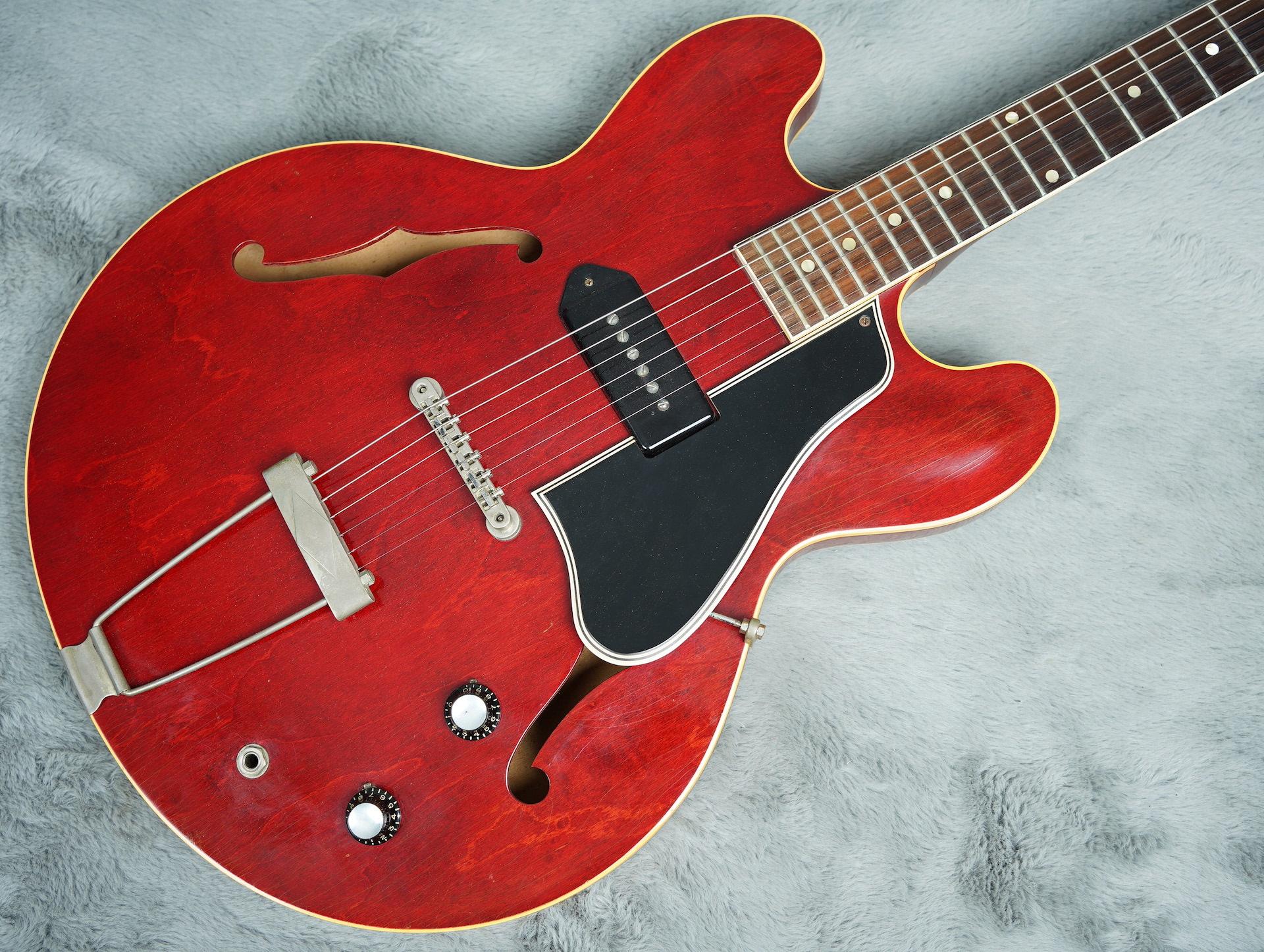 1961 Gibson ES-330 TC Cherry + OHSC near MINT!