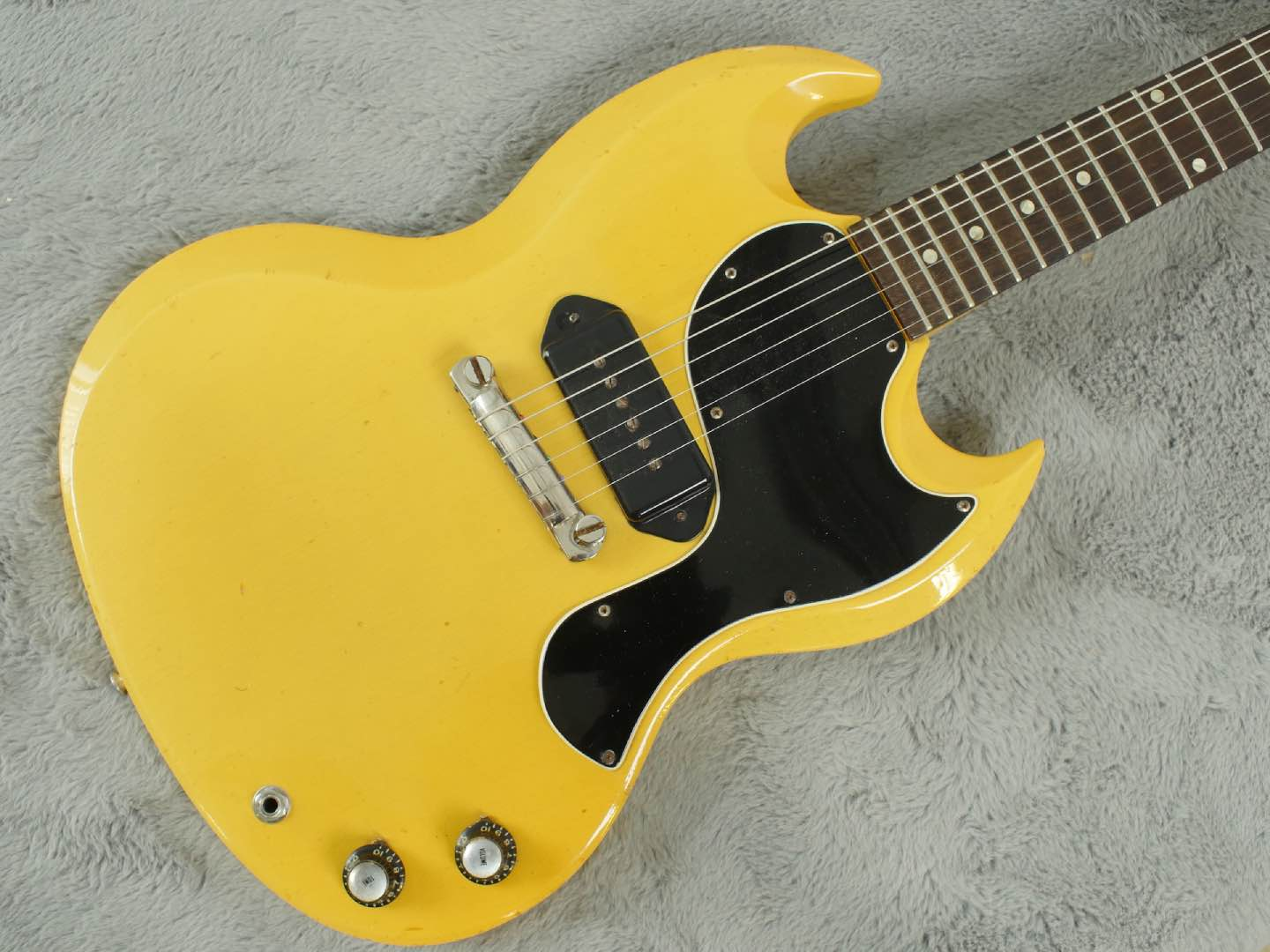 1961 Gibson SG Les Paul Junior TV Yellow