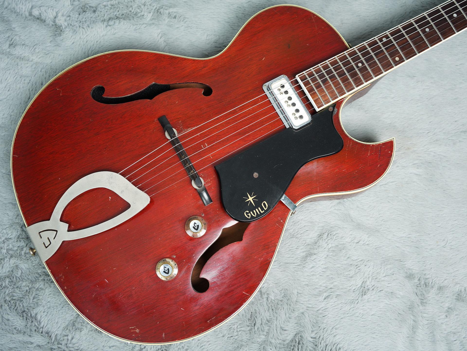 1961 Guild Starfire 1 + HSC