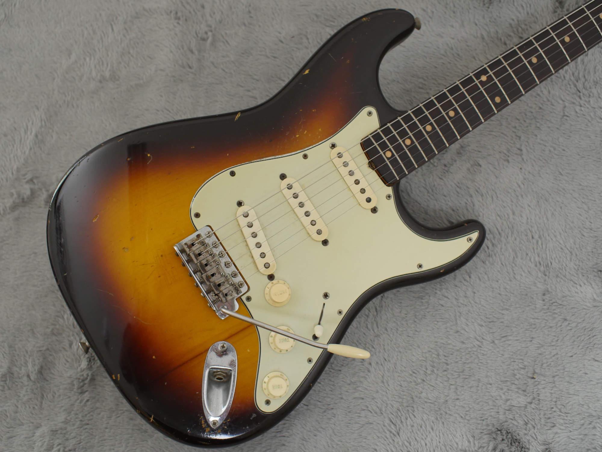 1961 Fender Stratocaster Slab Board + OHSC