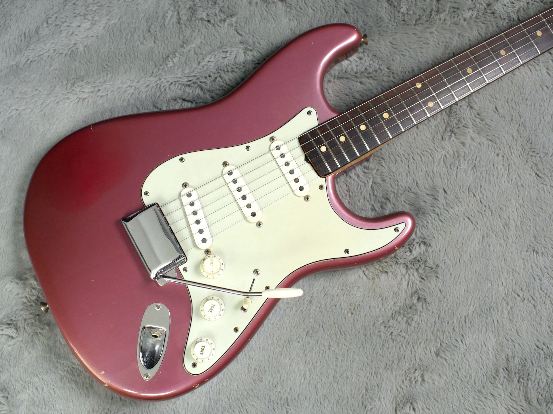 1962 Fender Stratocaster Burgundy Mist + OHSC
