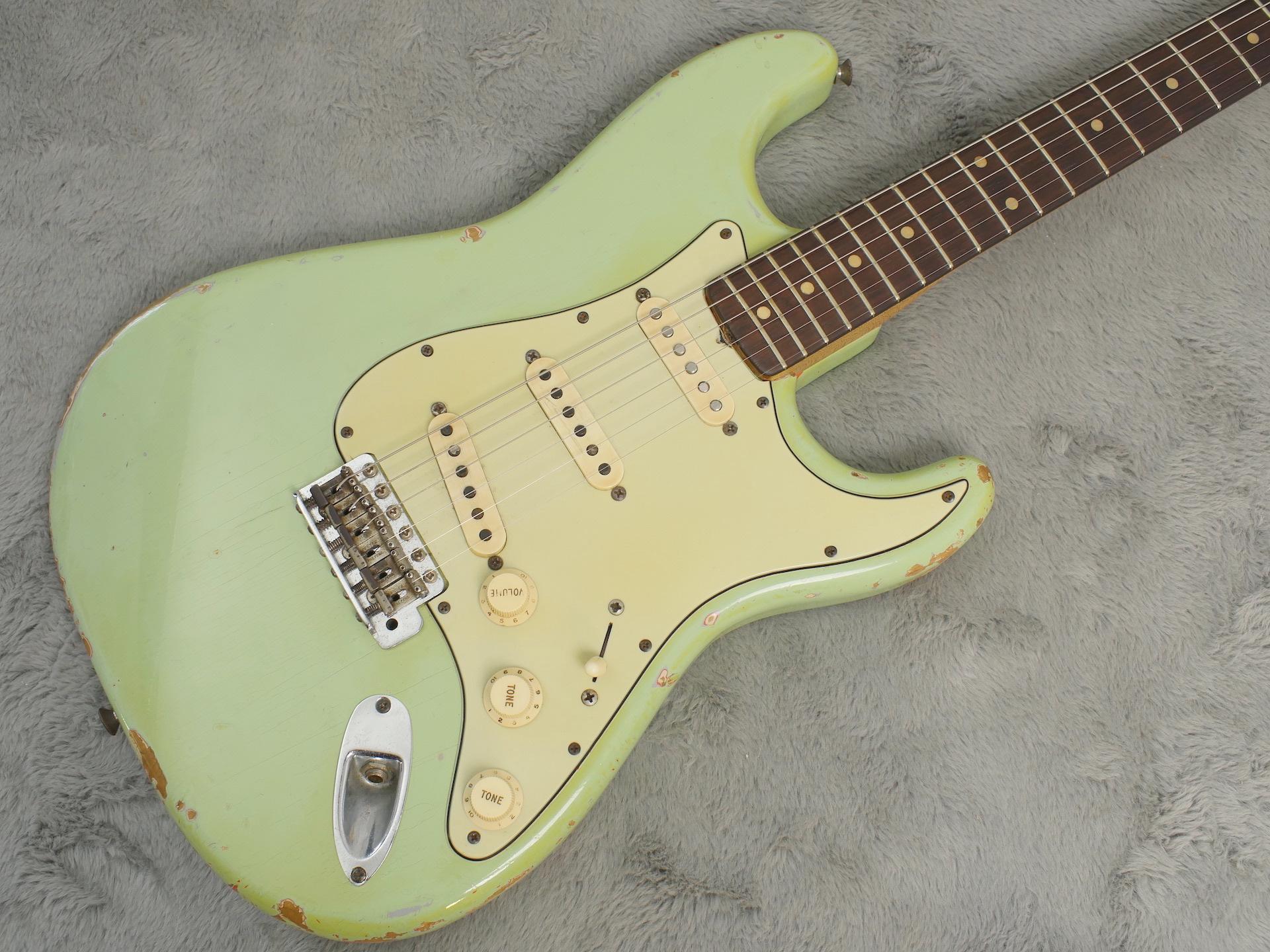 1962 Fender Stratocaster Green Refin + HSC