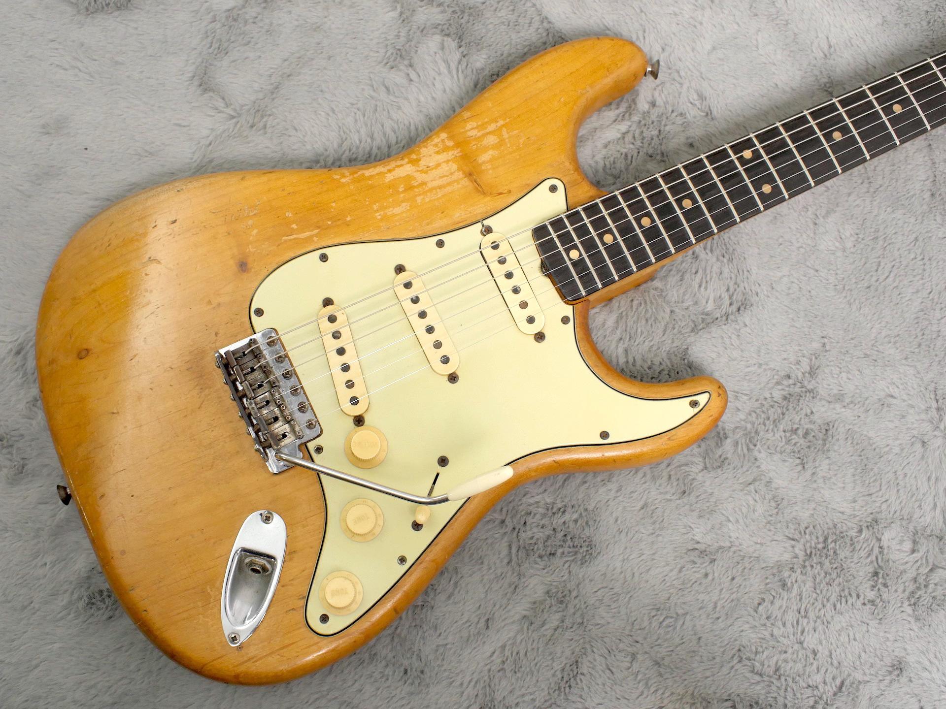 1962 Fender Stratocaster Natural Refin + HSC