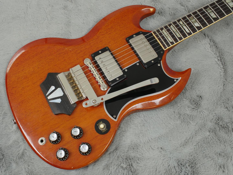 1962 Gibson Les Paul SG Standard Ebony Block + OHSC
