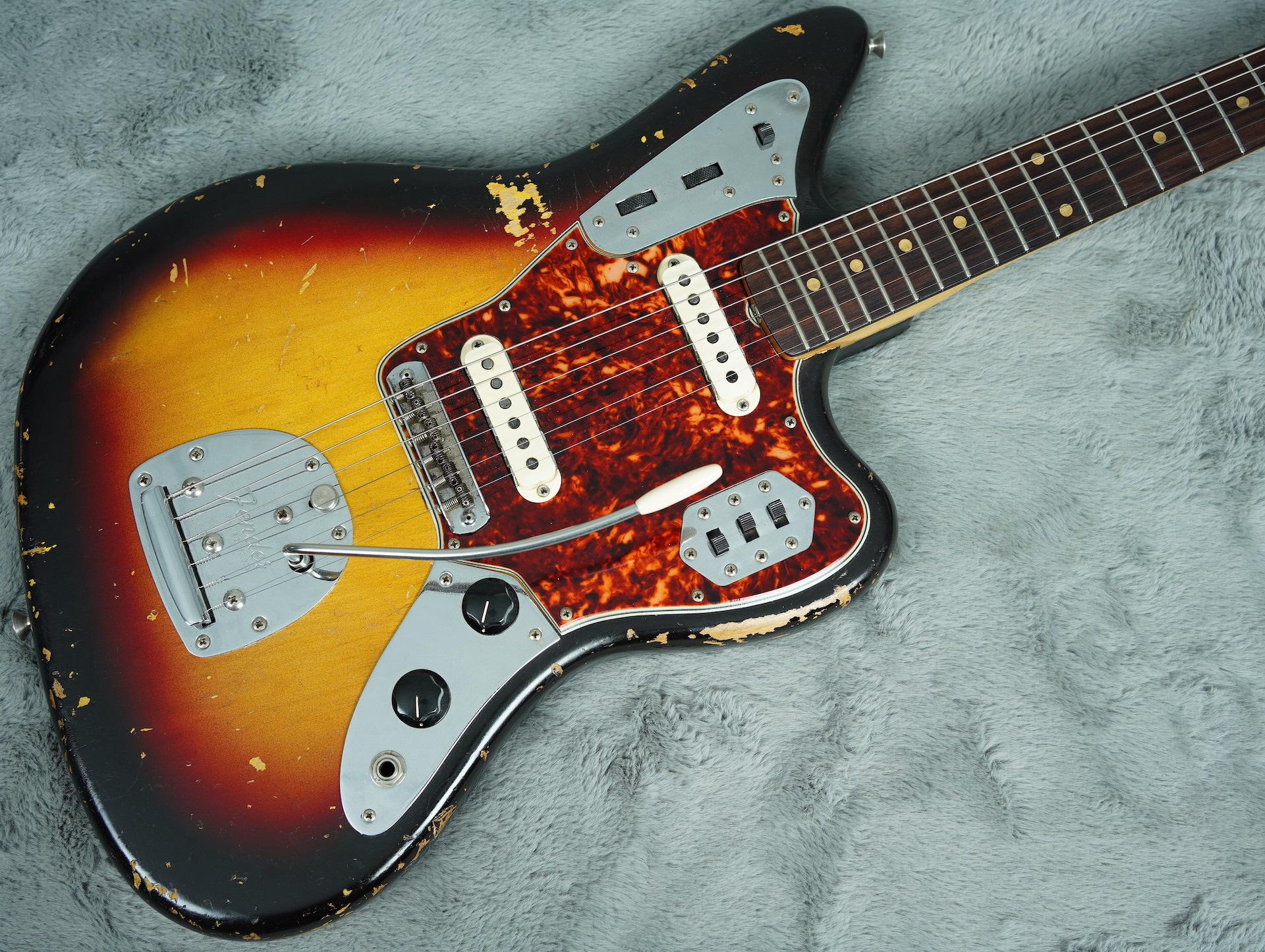 1963 Fender Jaguar Sunburst + HSC