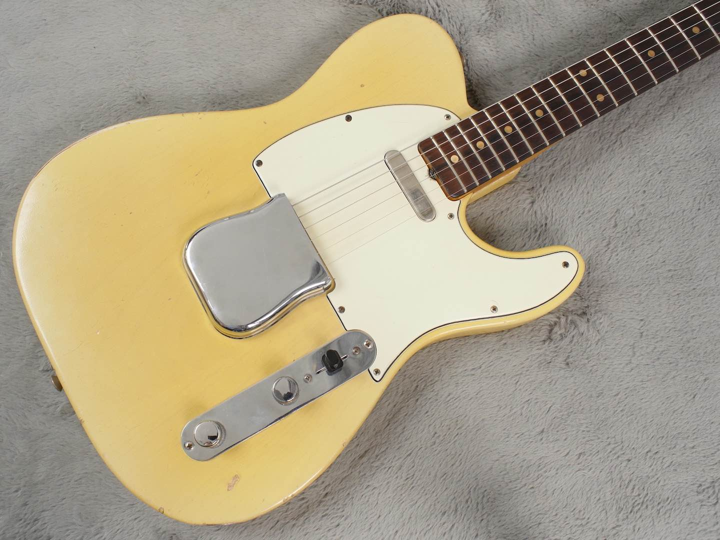 1963 Fender Telecaster Blonde Clive Brown Refin + HSC