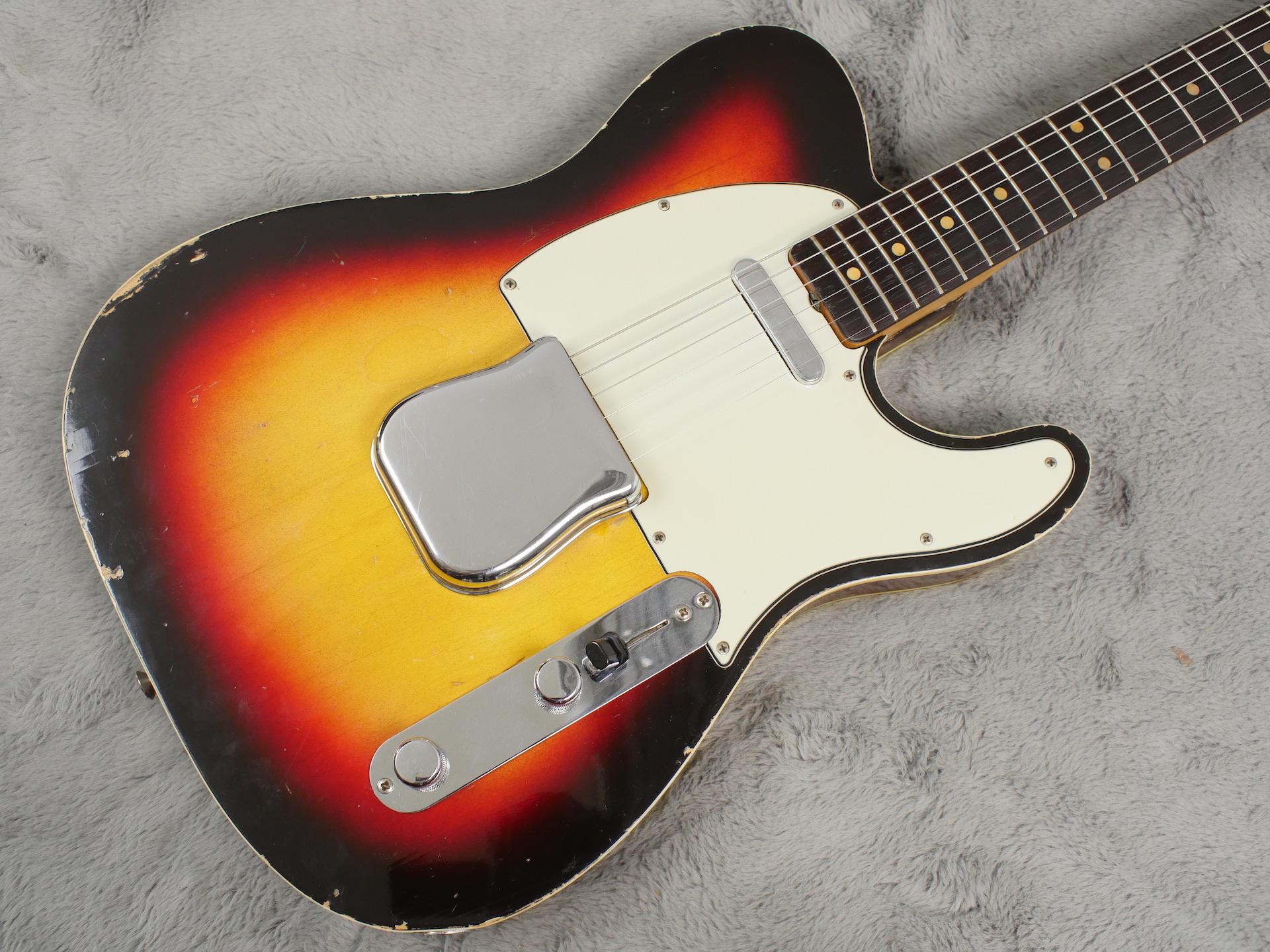 1963 Fender Telecaster Custom + OHSC