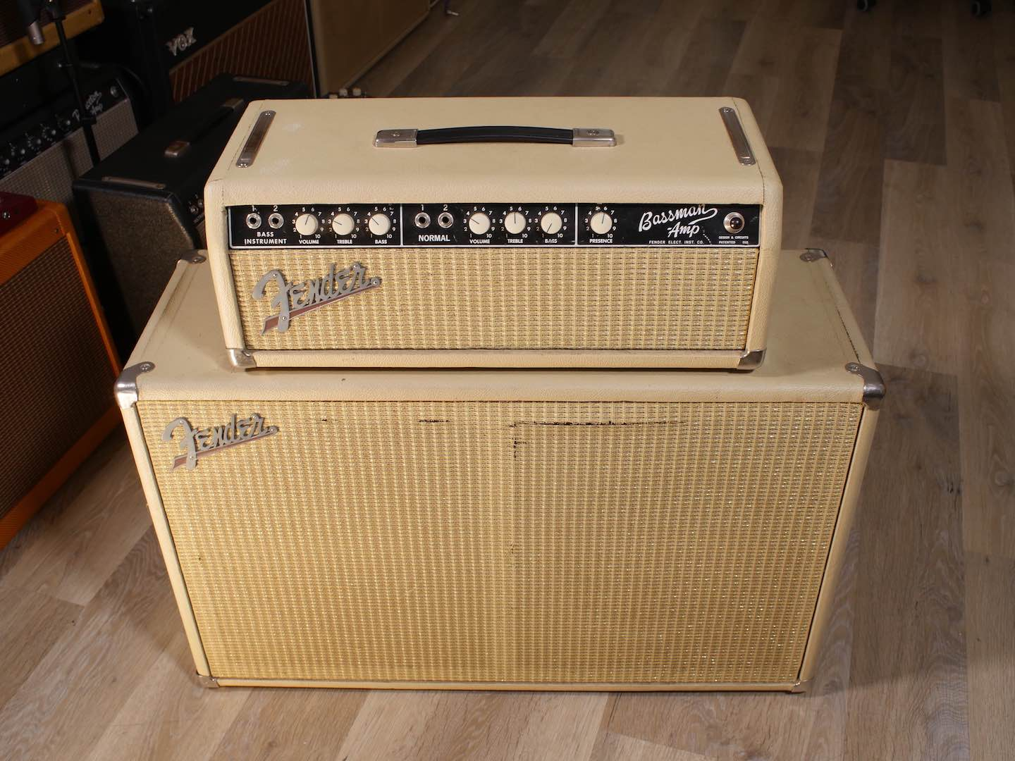 1964 '63 spec Fender Bassman 6G6-B RARE export model 110-240v