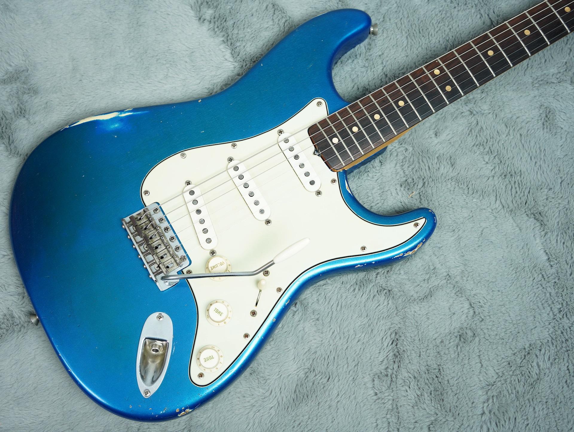 1964 Fender Stratocaster Lake Placid Blue body only refin + HSC