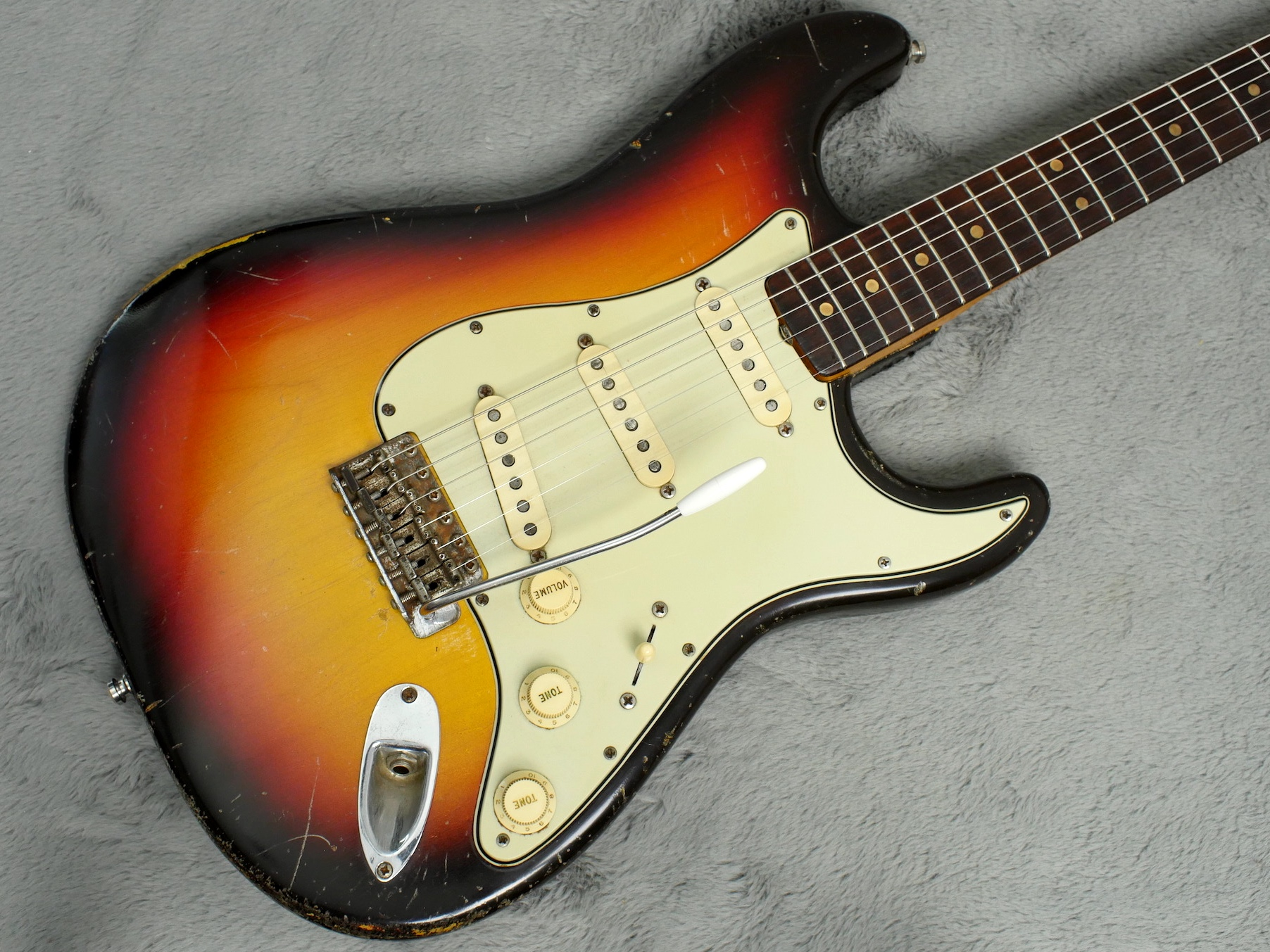1963/4 Fender Stratocaster Clive Brown body only Refin + HSC