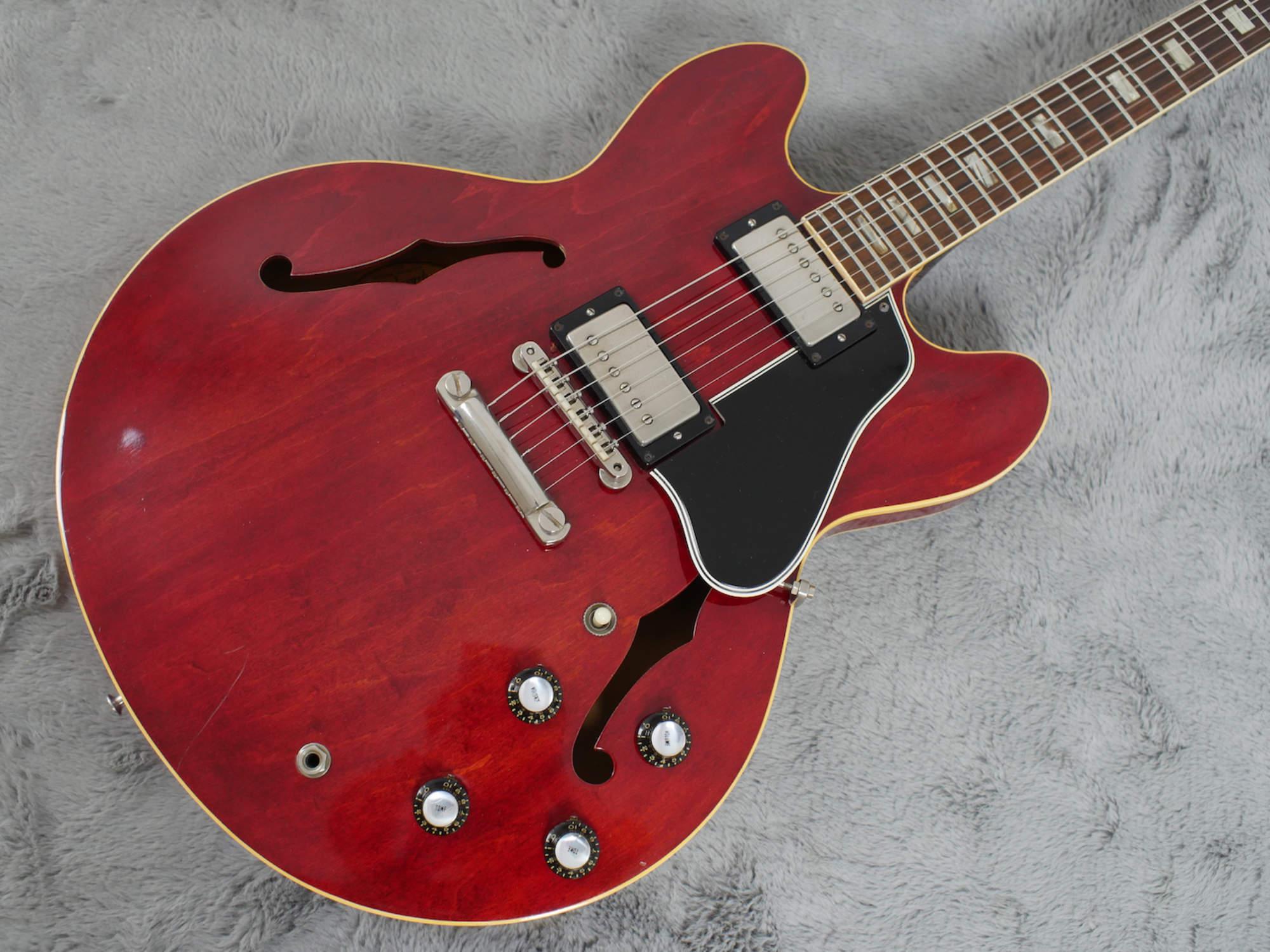 1964 Gibson ES-335 TDC + OHSC Nr. MINT