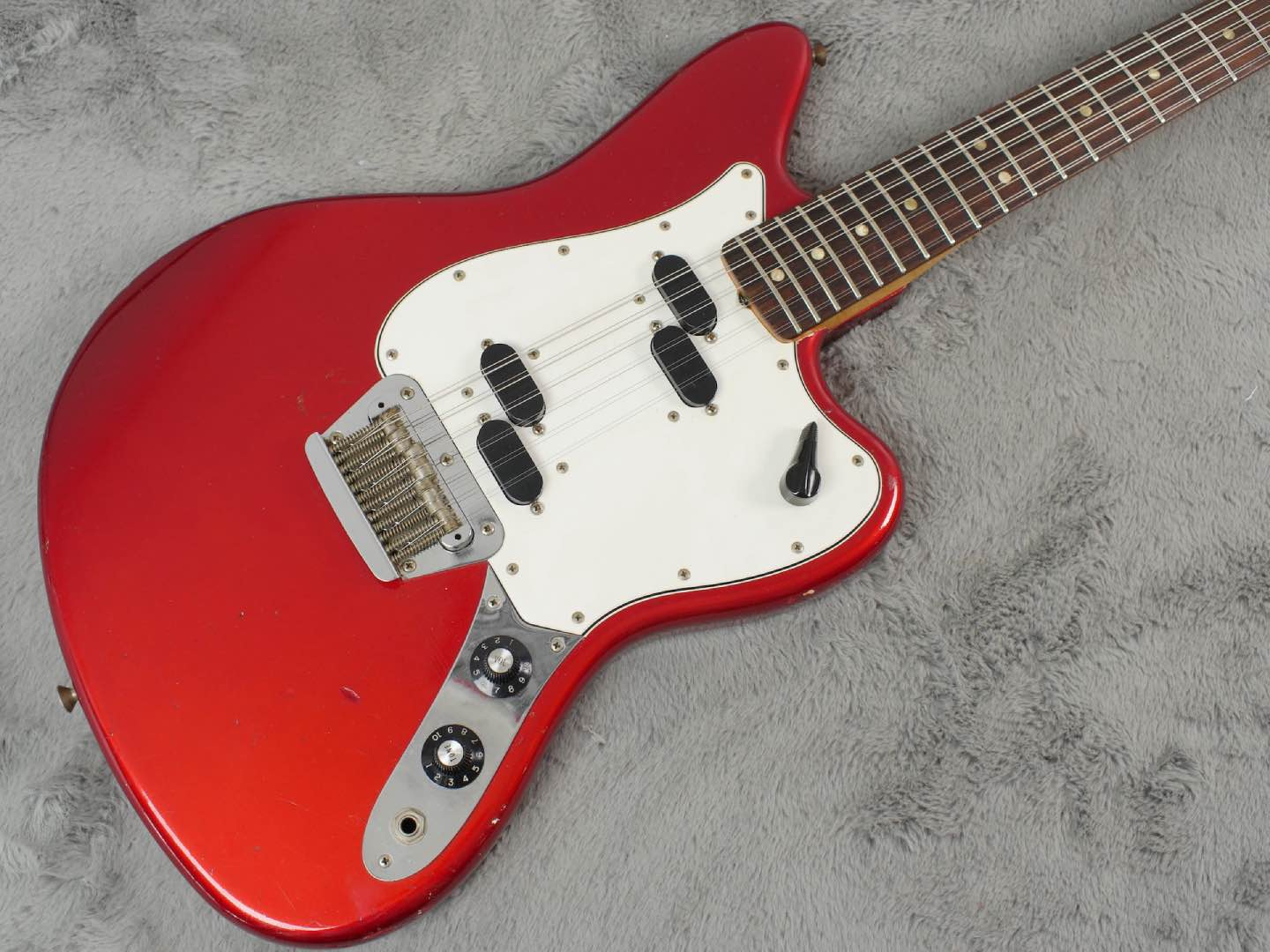 1965 Fender Electric XII Candy Apple Red + OHSC