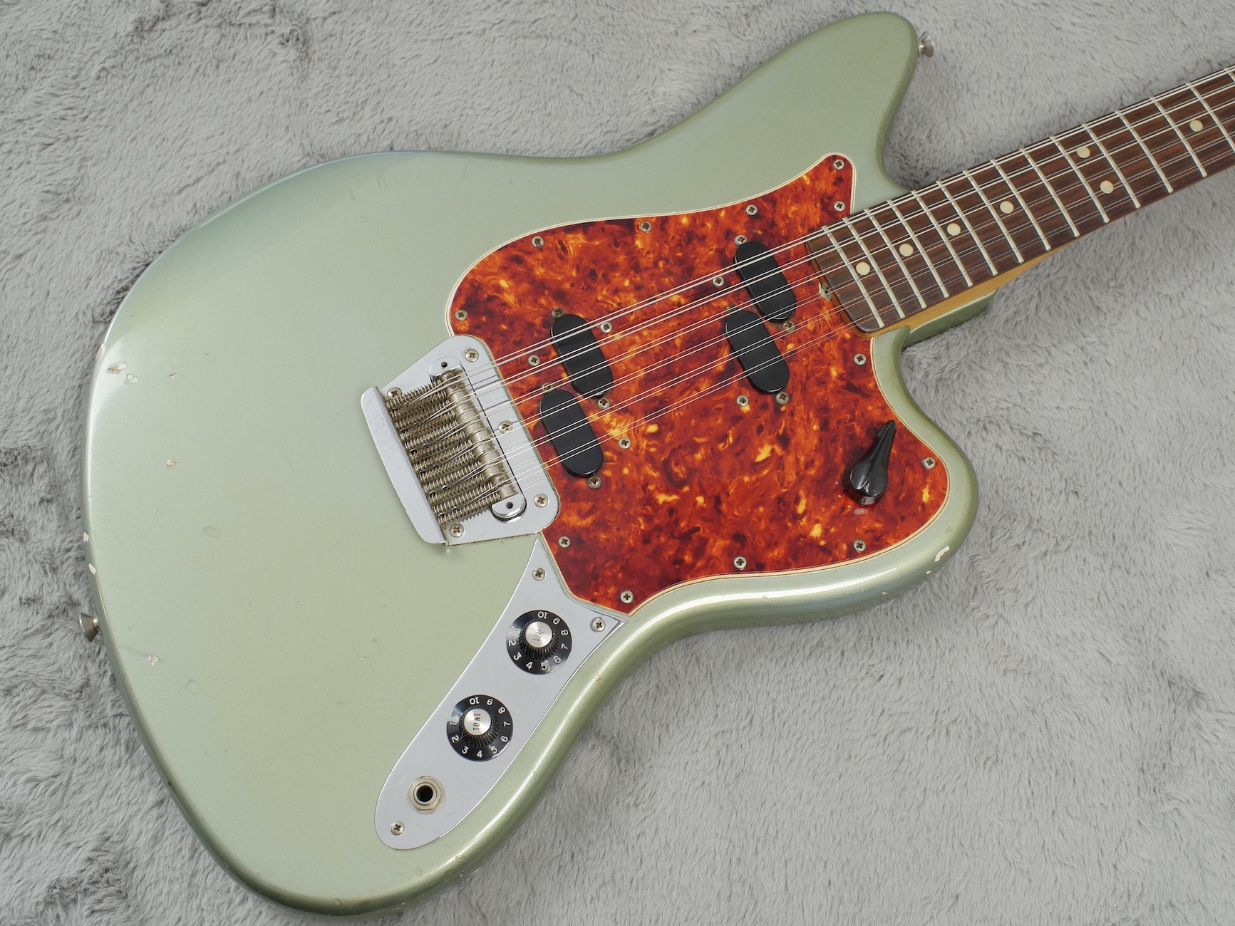 1965 Fender Electric XII Ice Metallic Blue + OHSC