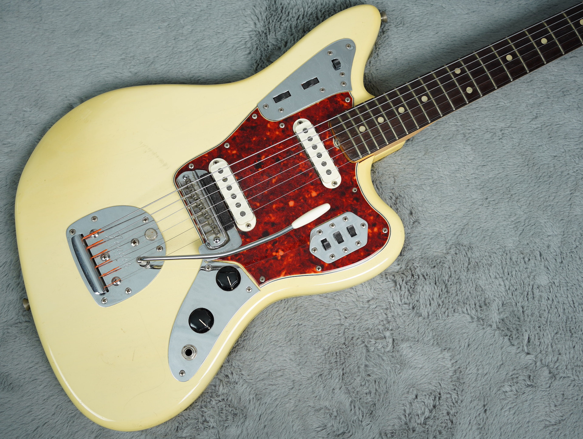 1965 Fender Jaguar Blonde + OHSC