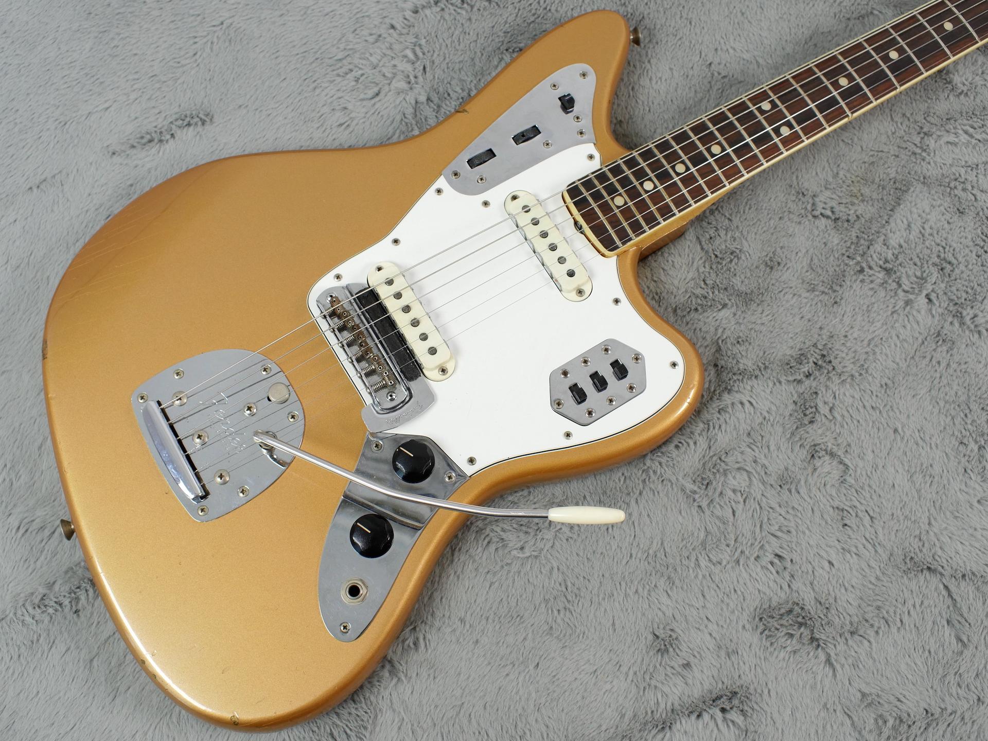 1966 Fender Jaguar Firemist Gold + OHSC