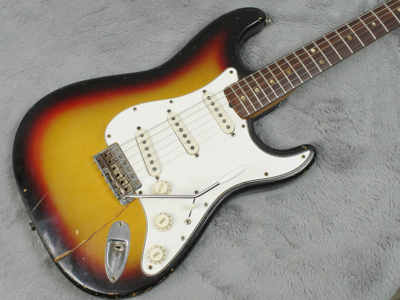 1966 Fender Stratocaster 'The Baby Sitter Strat' + OHSC