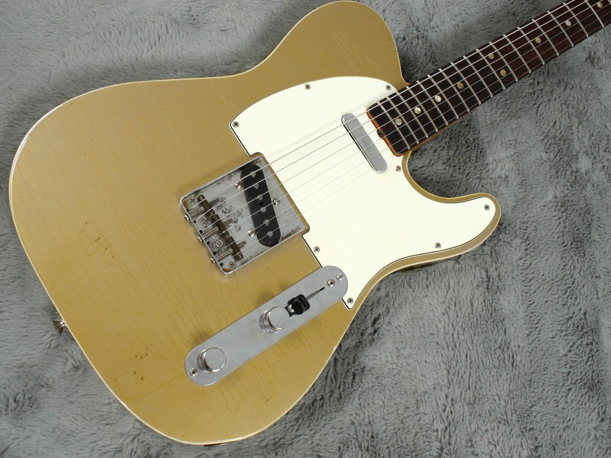1966 Fender Custom Telecaster FIREMIST GOLD! + OHSC