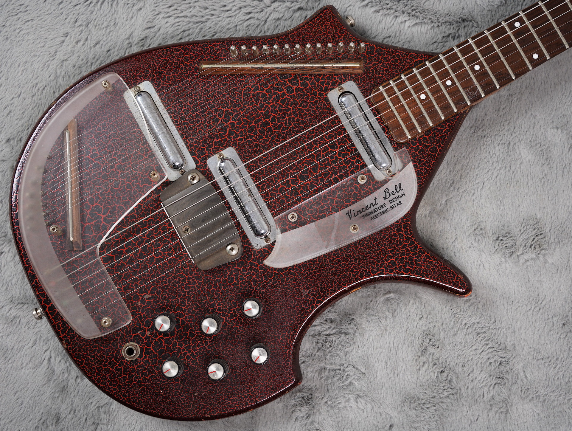 1967 Coral Sitar, ex Wayne Hussey and Adrian Utley + HSC