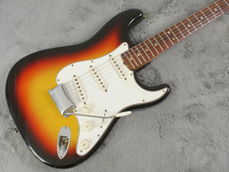 1967 Fender Stratocaster + OHSC + Case Candy