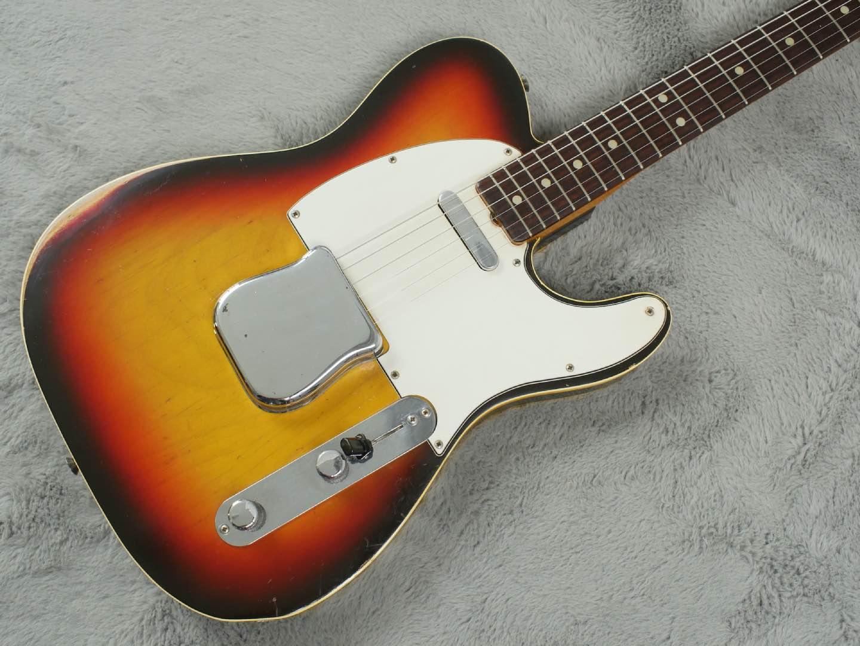 1966 Fender Telecaster Custom + Export OHSC