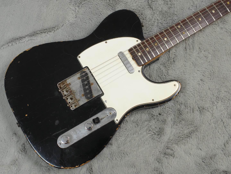 1966 Fender Telecaster Black body only Refin