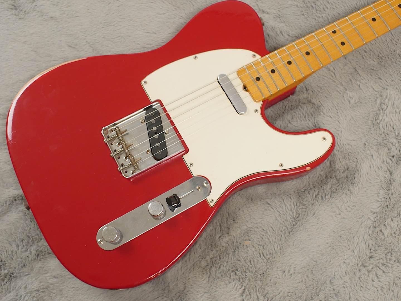 1966 Fender Telecaster Dakota Red refin + OHSC