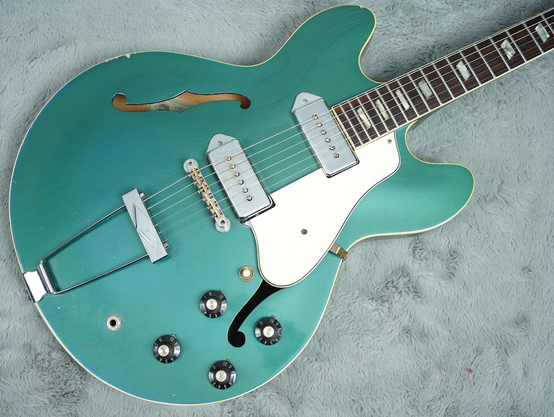 1967 Epiphone Casino Pelham Blue + OHSC - Pretty Rare!