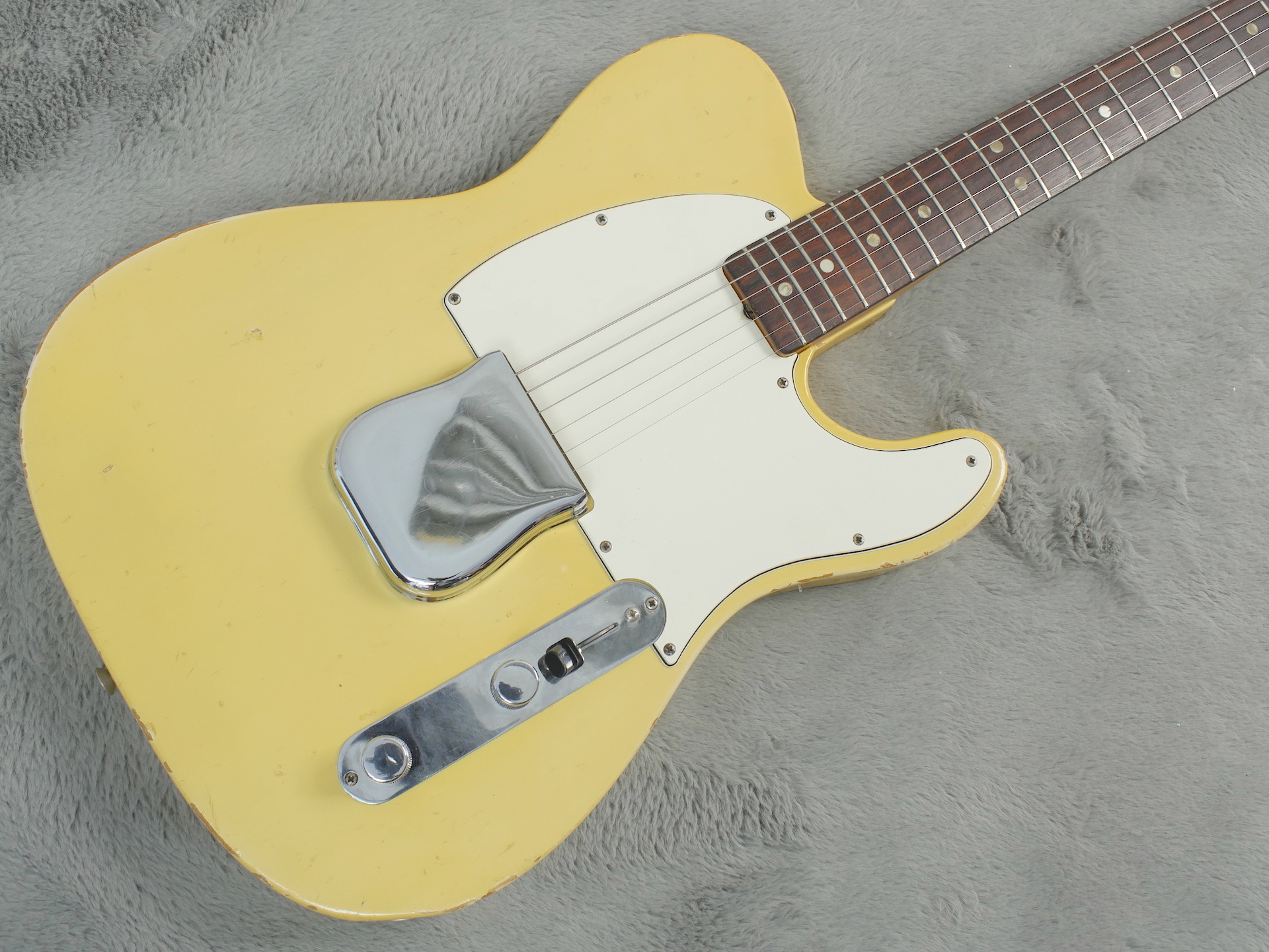 1967 Fender Esquire Olympic White + HSC