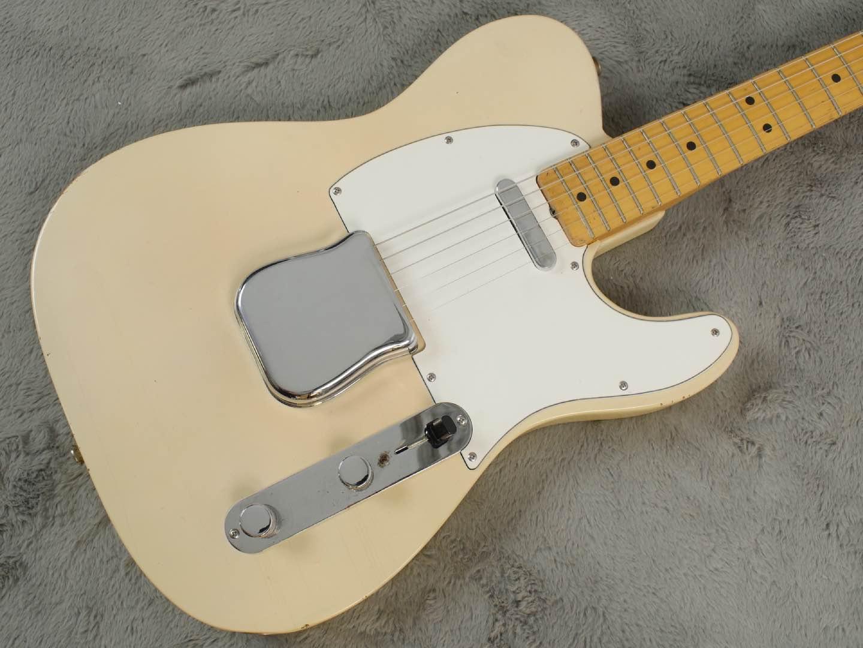 1967 Fender 'Smugglers' Telecaster Blonde body only Refin + OHSC