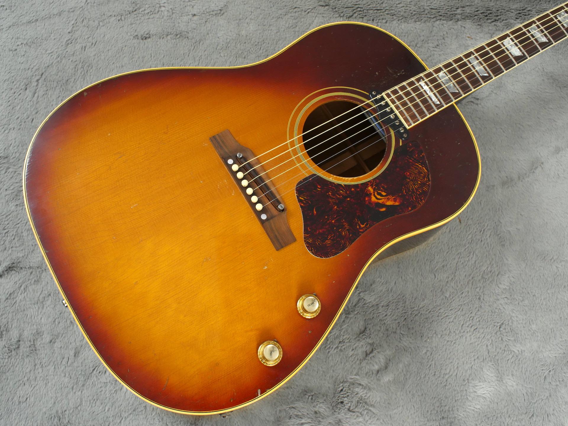 1967 Gibson J160E + OHSC