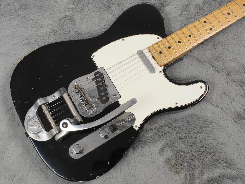 1968 Fender Telecaster Factory Black Bigsby + HSC
