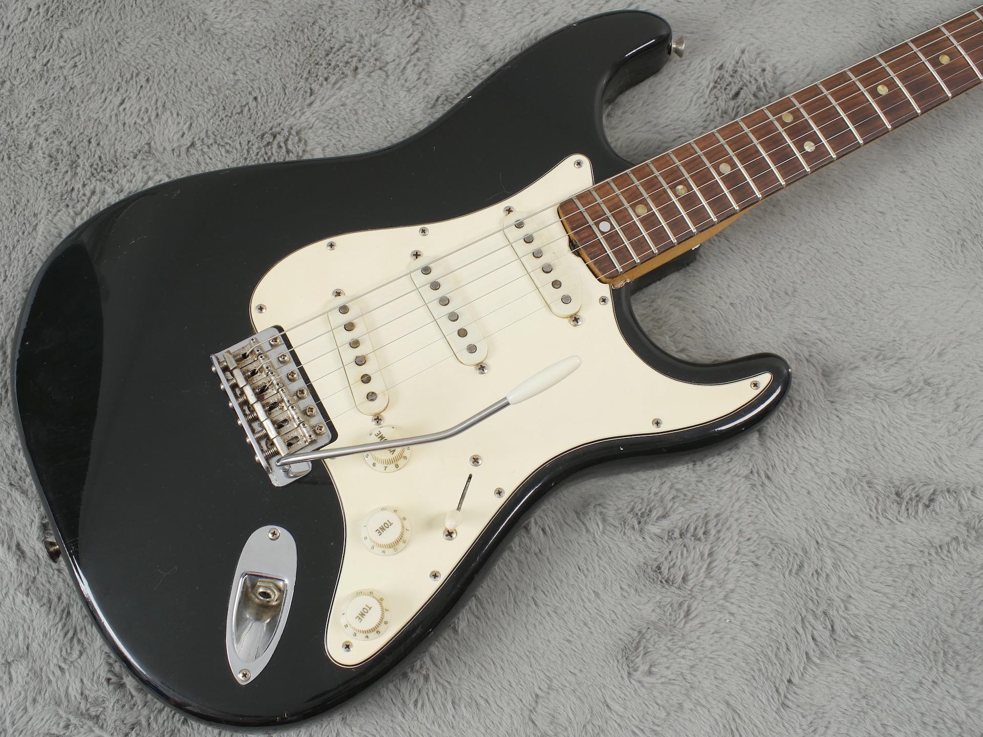1969 Fender Stratocaster - Black + OHSC