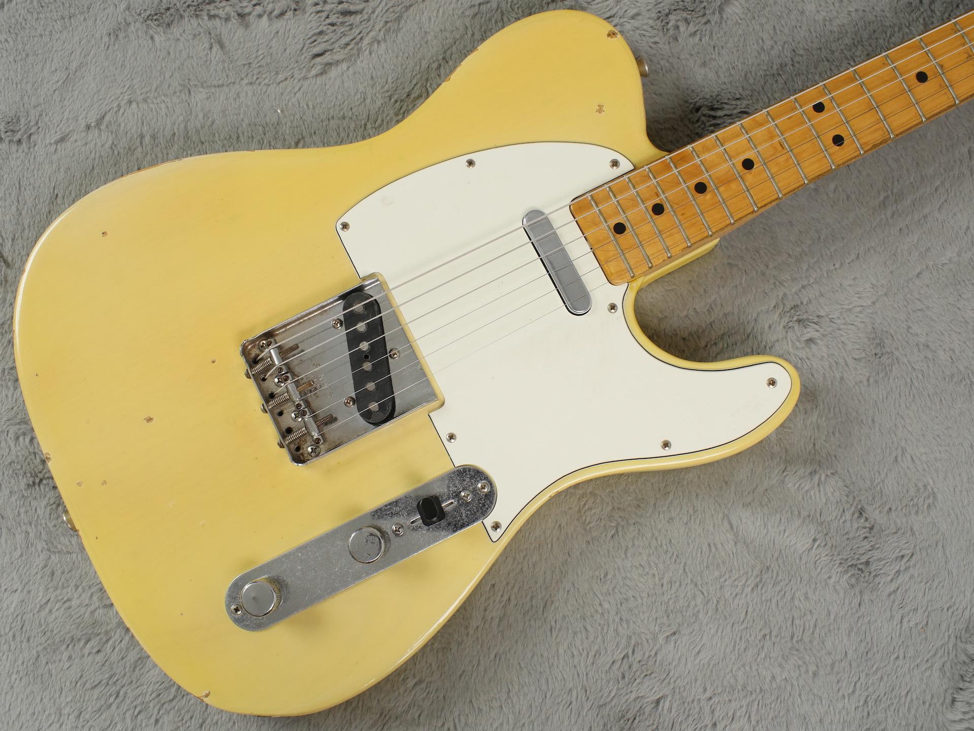 1969 Fender Telecaster blonde + HSC