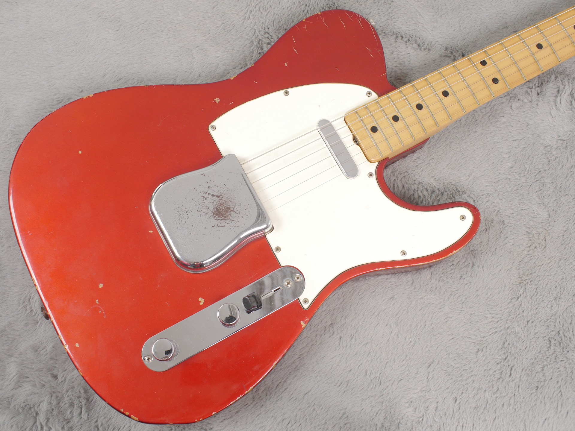1969 Fender Telecaster Candy Apple Red + OHSC