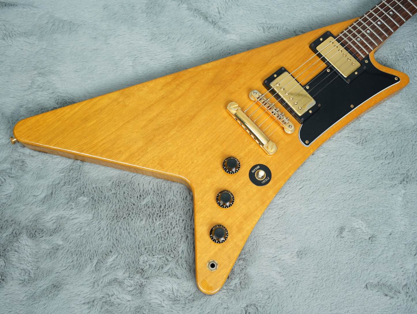 1982 Gibson Korina Moderne Heritage Series + OHSC near MINT!