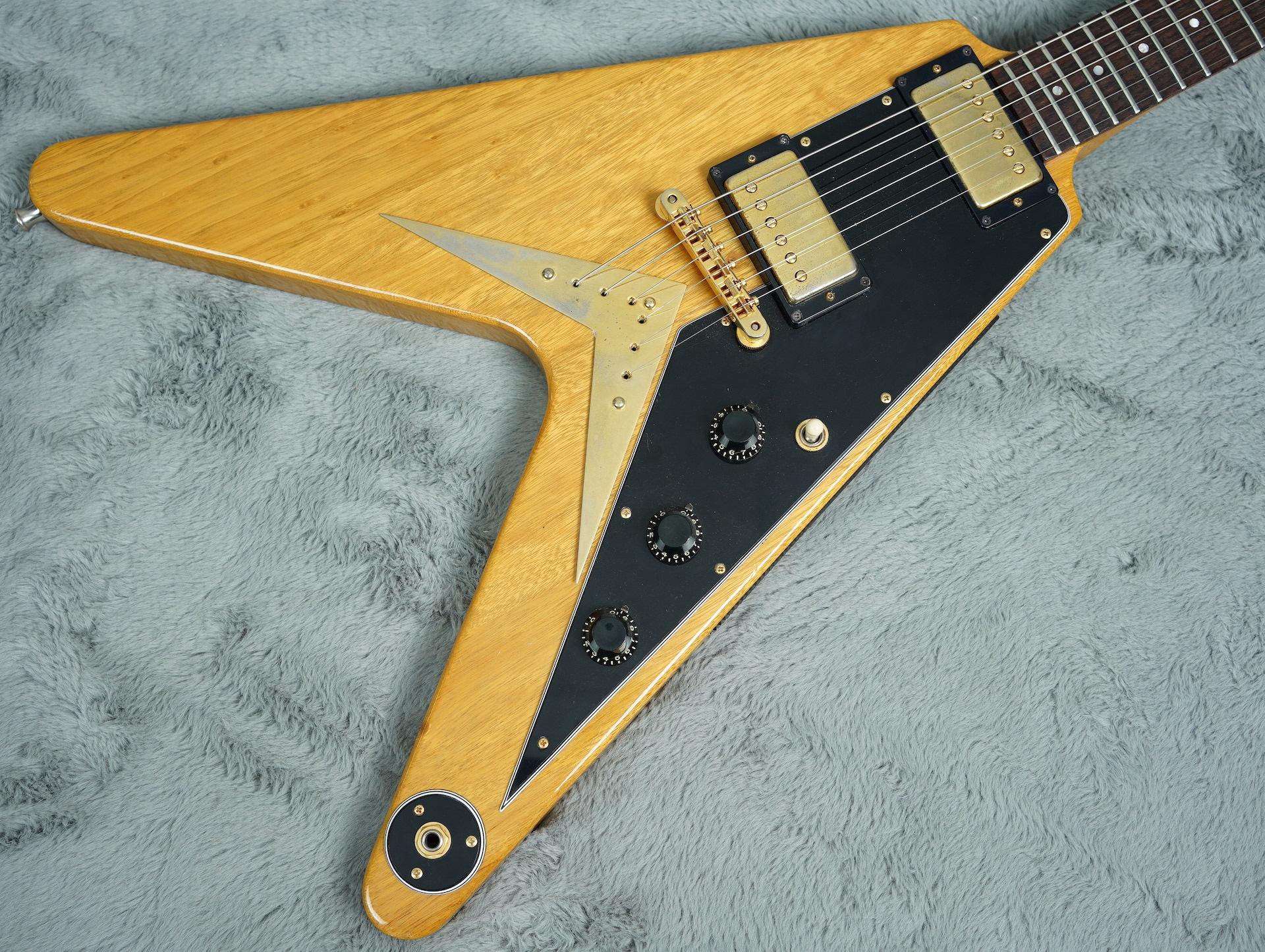 1982 Gibson Korina Flying V Heritage Series + OHSC near MINT!