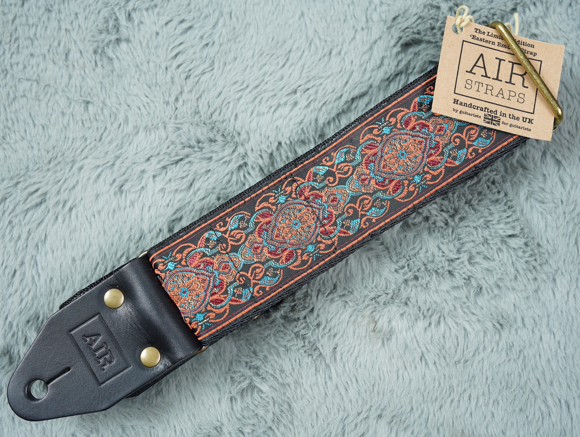 Air Straps Limited Edition 'Eastern Ember' Guitar Strap - Free Shipping!