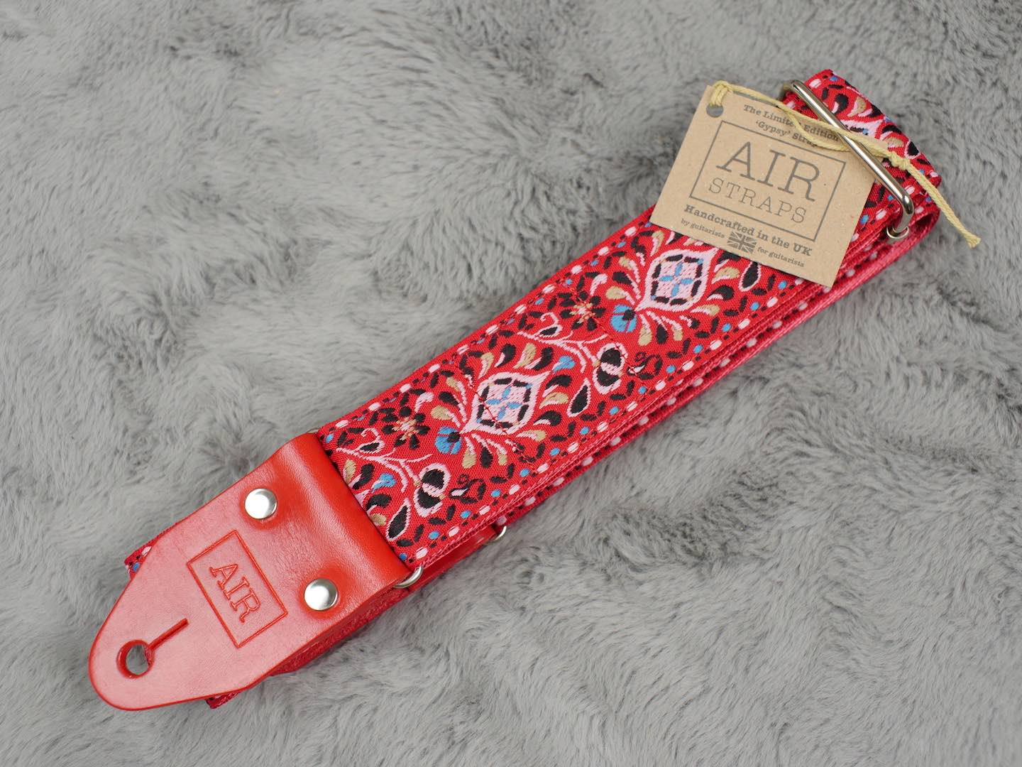 Air Straps Limited Edition 'Gypsy' Guitar Strap - Free Shipping!