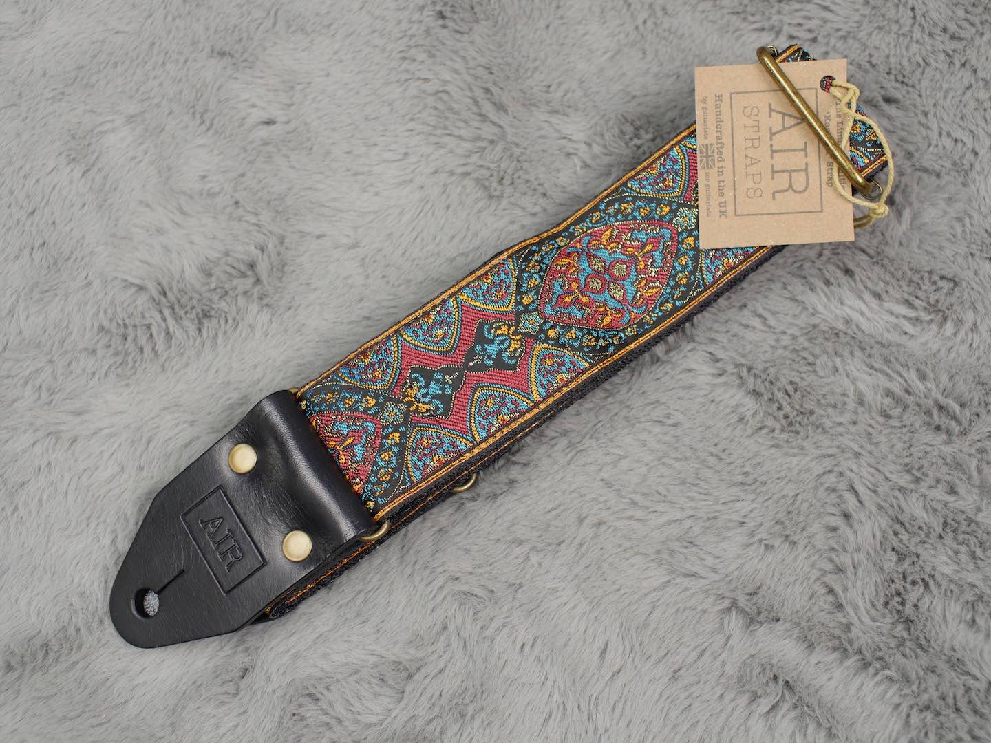 Air Straps Limited Edition 'Kashmir' Guitar Strap - Free Shipping!