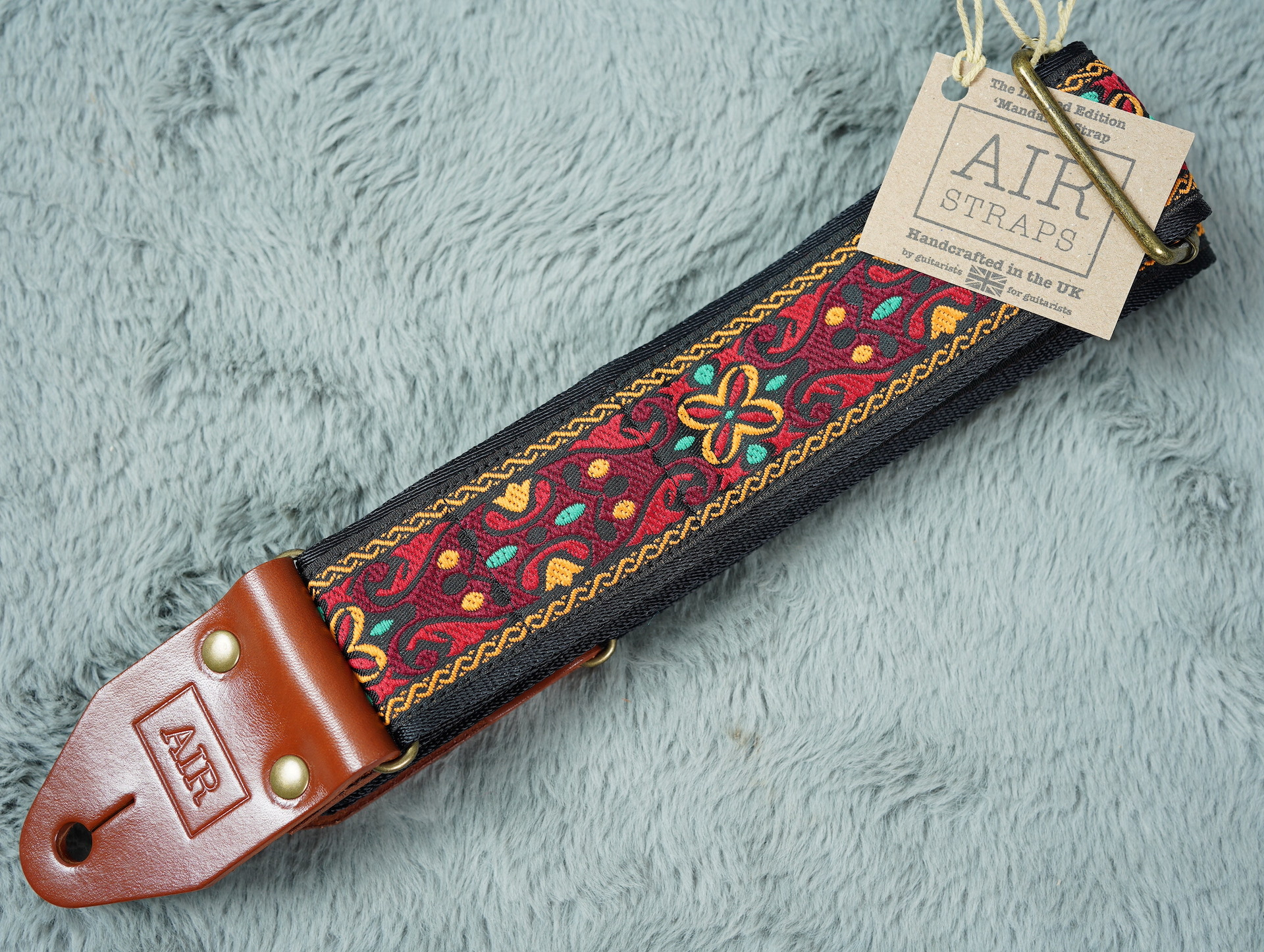 Air Straps Limited Edition 'Mandalay' Guitar Strap - Free Shipping!